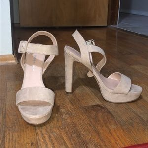 Madden girl nude high heels